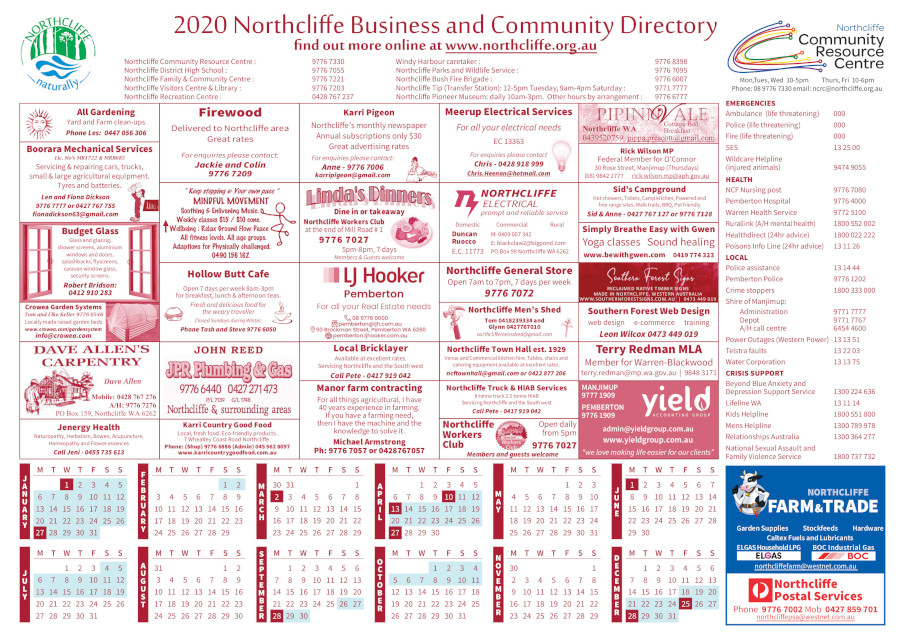 Northcliffe Community and Business Directory
